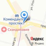 Кино-5D на карте Санкт-Петербурга