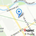 АДМ Дентал на карте Санкт-Петербурга