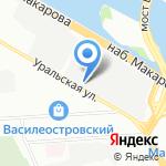 Арт-проект на карте Санкт-Петербурга