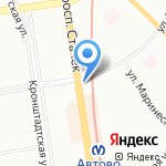Пирогоф на карте Санкт-Петербурга