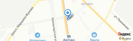 Консалтинг Профи на карте Санкт-Петербурга