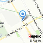Норд Тэко на карте Санкт-Петербурга