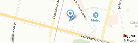 Средняя общеобразовательная школа №644 с углубленным изучением физики и математики на карте Санкт-Петербурга