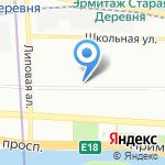 Kindleland на карте Санкт-Петербурга