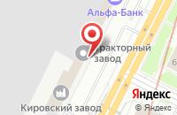 Схема проезда до компании ГидравликСервис в Санкт-Петербурге