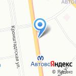 Золотой Дракон на карте Санкт-Петербурга