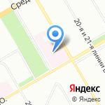 Детская инфекционная больница №3 на карте Санкт-Петербурга