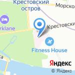 Пластическая хирургия на Крестовском на карте Санкт-Петербурга