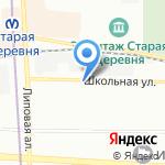 Левша на карте Санкт-Петербурга