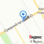 Икорный клуб на карте Санкт-Петербурга