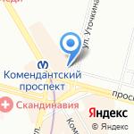 Киоск по продаже товаров для дома на карте Санкт-Петербурга