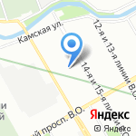 Лечебно-научный центр Ринологии на карте Санкт-Петербурга