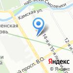 Funny Bath на карте Санкт-Петербурга
