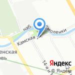 Каталея на карте Санкт-Петербурга