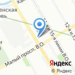Gorga на карте Санкт-Петербурга
