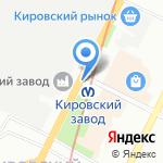 Ореховый дворик на карте Санкт-Петербурга