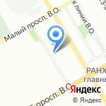 ХКСкан на карте Санкт-Петербурга
