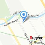 Гидротехпроект на карте Санкт-Петербурга