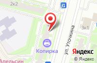 Схема проезда до компании Континент-С в Санкт-Петербурге