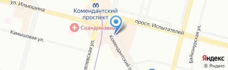 Лотереи Северной Столицы на карте Санкт-Петербурга