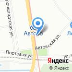 Северная Звезда-Торг Сервис на карте Санкт-Петербурга