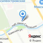 Креакон на карте Санкт-Петербурга