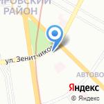 Podgornaya studio на карте Санкт-Петербурга