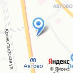Санкт-Петербургский государственный морской технический университет на карте Санкт-Петербурга