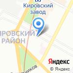 Многая Лета на карте Санкт-Петербурга