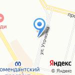 Стройторг на карте Санкт-Петербурга