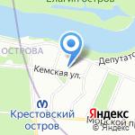 Образовательный центр охраны труда на карте Санкт-Петербурга