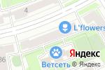 Схема проезда до компании РА в Санкт-Петербурге