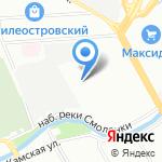 Студия ремонта на карте Санкт-Петербурга