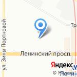 Средняя общеобразовательная школа №481 на карте Санкт-Петербурга