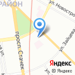 ОКТЕТ Лабз на карте Санкт-Петербурга
