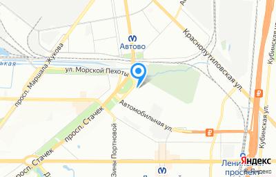 Местоположение на карте пункта техосмотра по адресу г Санкт-Петербург, пр-кт Стачек, д 106
