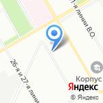 СИМПЛЕКС на карте Санкт-Петербурга