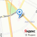 Консультативно-диагностический центр №85 на карте Санкт-Петербурга