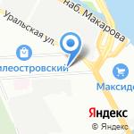 АСКОН на карте Санкт-Петербурга