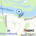 Приозерский лесокомбинат на карте Санкт-Петербурга