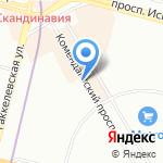 Северные плиты на карте Санкт-Петербурга