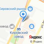 Магазин табачных изделий на карте Санкт-Петербурга