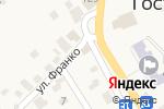 Схема проезда до компании Нотариус Прилипко В.В. в Гостомеле