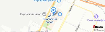 КагаБург на карте Санкт-Петербурга