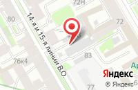 Схема проезда до компании Нова Литтера Спб в Санкт-Петербурге
