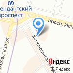 SugarSecret на карте Санкт-Петербурга