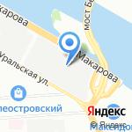 Энергия жизни на карте Санкт-Петербурга