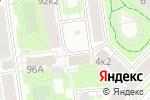 Схема проезда до компании Ателье по ремонту одежды в Санкт-Петербурге