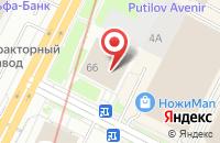 Схема проезда до компании Инфокуб в Санкт-Петербурге