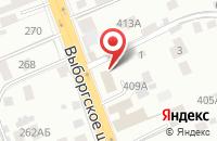 Схема проезда до компании Центр Исследований Социальных Коммуникаций в Парголово